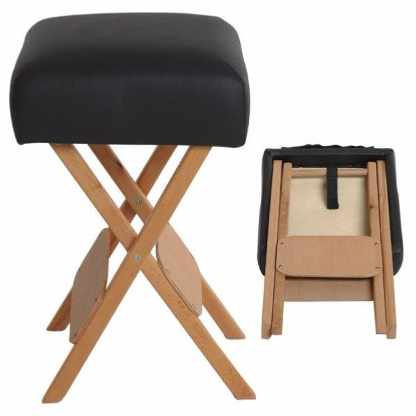 tabouret en bois pour kin tabouret de massage noir. Black Bedroom Furniture Sets. Home Design Ideas