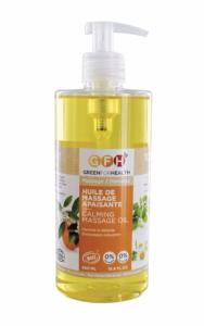 HUILE DE MASSAGE APAISANTE BIO Green For Health