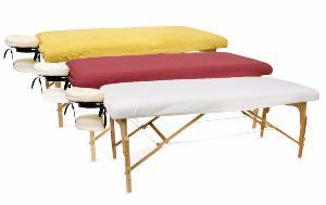 Housse Table De Massage Drap Protection Couleur Perle