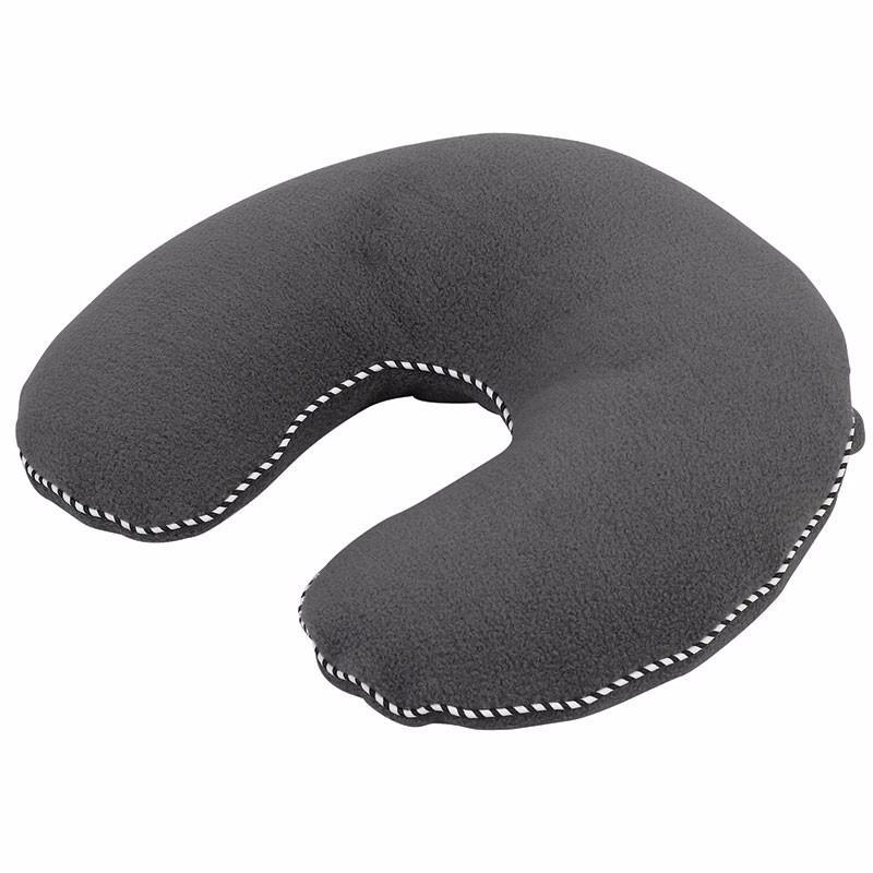 coussin de voyage confort gris oreiller buchi pas cher. Black Bedroom Furniture Sets. Home Design Ideas
