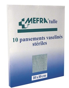 PANSEMENTS MEFRA TULLE 3M