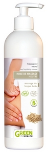 HUILE DE MASSAGE NEUTRE BIO Green For Health