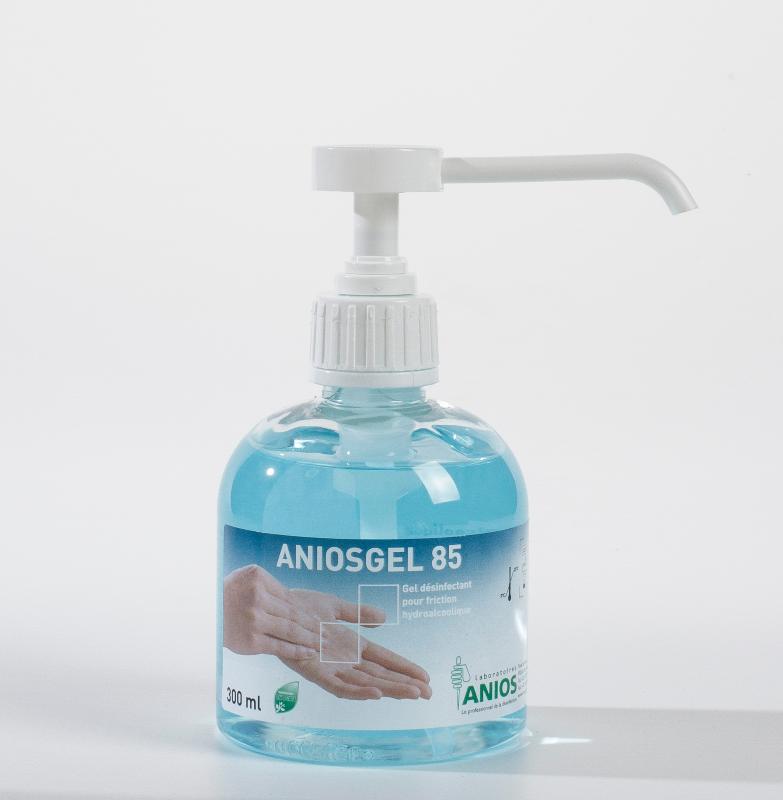 Gel Antibacterien Aniosgel Bleu Manugel